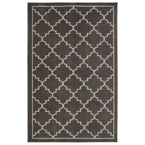 rugs home depot canada home decorators collection winslow walnut 8 x10 area rug the home depot canada