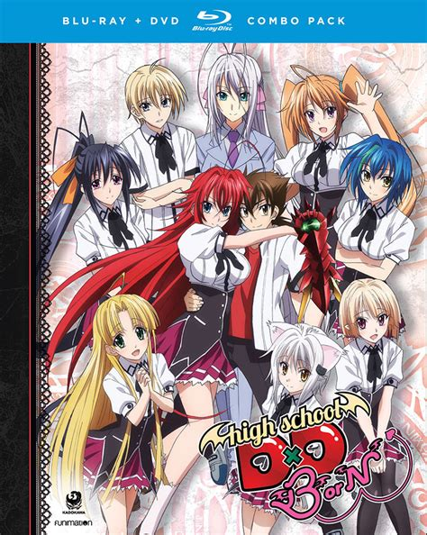 High School Dxd Season 3 Dvd