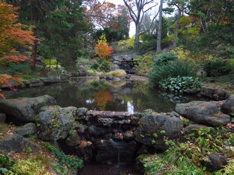 Hillside Gardens by Autumn In High Park Nature In The Of Toronto City