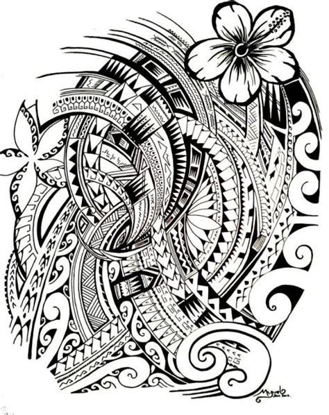 hawaiian tribal pattern meanings 48 coolest polynesian tattoo designs