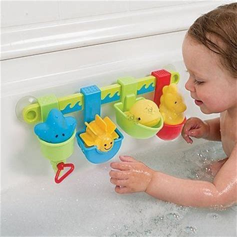 bathtub toys for babies early learning centre seaside pour and play by peterkin
