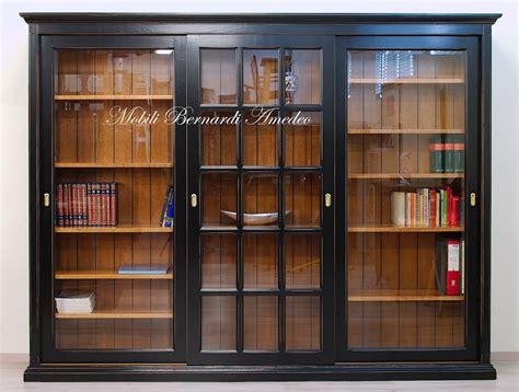 librerie scorrevoli libreria con ante librerie