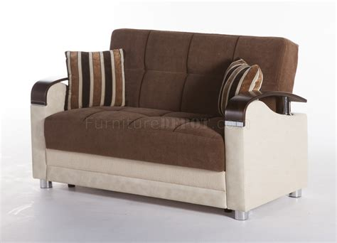 luna sofa bed luna troya brown sofa bed by sunset w options