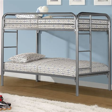 metal bunk bed metal bunk bed in bunk beds