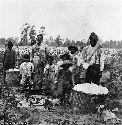 civil war slave family images