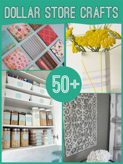dollar store diy home decor 60 projects to make with dollar store supplies