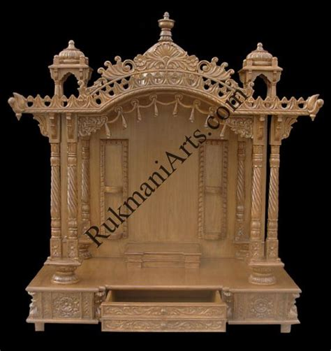 wood temple mandir designs for home with prices house