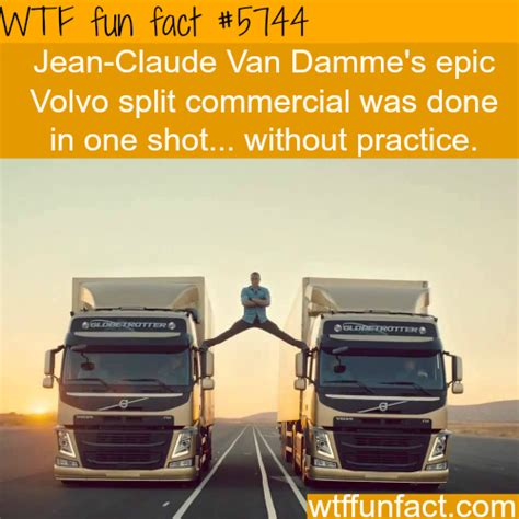 what s the volvo commercial about jean clause damme s volvo commercial