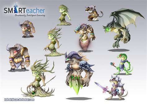 prodigy earth monsters  kokodriliscusdeviantartcom