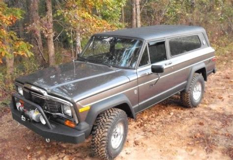 1979 jeep cherokee chief 1979 jeep cherokee chief nice custom bumper jeep