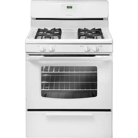 Kitchen Stoves At Lowes by Frigidaire Ffgf3017lw 30 In 4 Burner Freestanding 4 2 Cu