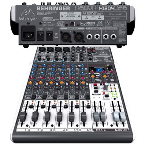 Second Mixer Behringer Xenyx 1204 Fx behringer xenyx x1204usb driver for windows 8