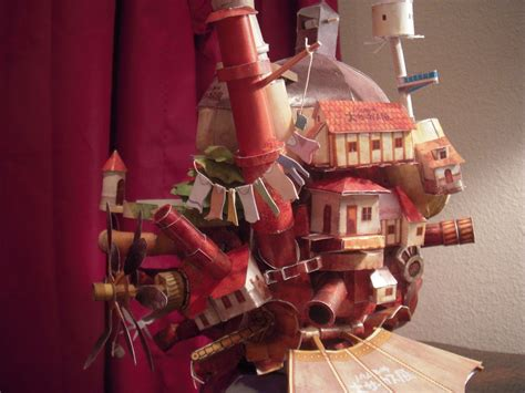 Howls Moving Castle Papercraft - howls moving castle papercraft by thecontessina on deviantart