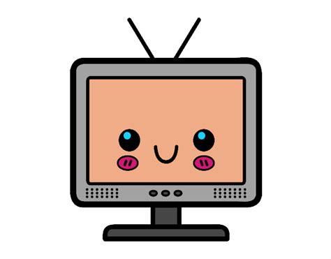 la casa del televisor dibujo de tele visor pintado por en dibujos net el d 237 a 16