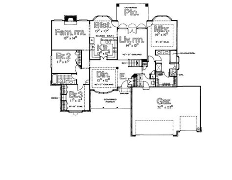 2 Bedroom Rambler Plans 1000 Images About 3 Bedroom Rambler Plans On