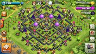 The best th9 farming bases in clash of clans compilation web