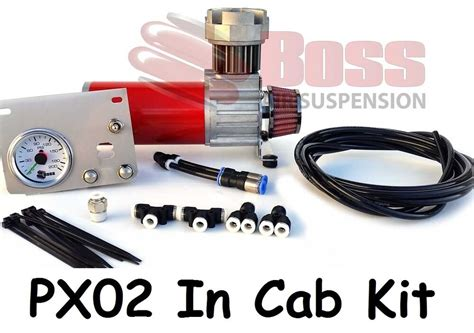 boss px  cab kit  air bag suspension compressor