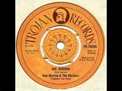 bob marley mr brown bob marley the wailers mr brown