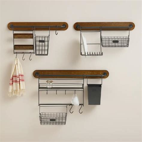 kitchen wall organization ideas modular kitchen wall storage collection world market