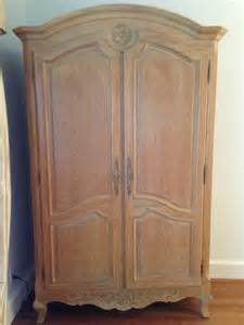 country bedroom oak wood armoire entertainment
