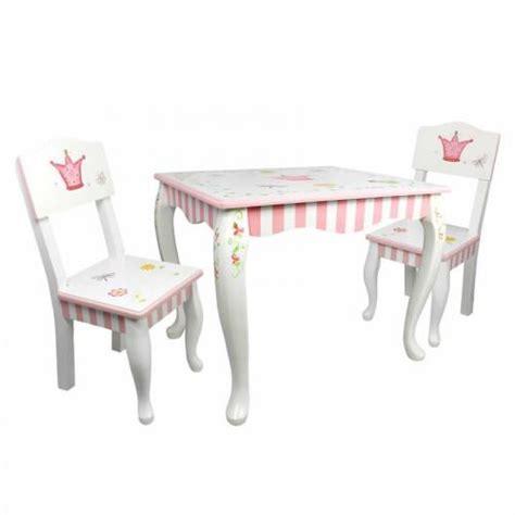 Princess The Frog Table And Chair Set