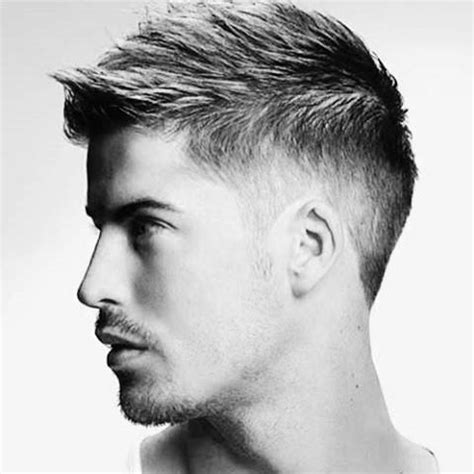 Top 15 Trendy Hairstyle Book For by Faux Hawk Fade Haircut For 40 Spiky Modern Styles