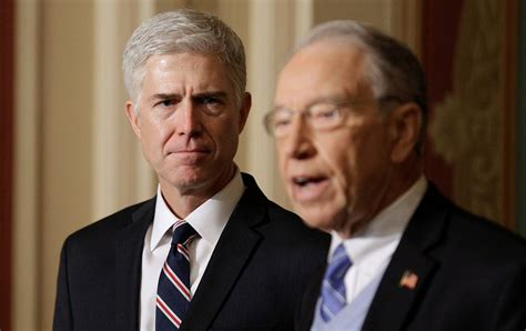 neil gorsuch information to avert disaster the senate must reject neil gorsuch