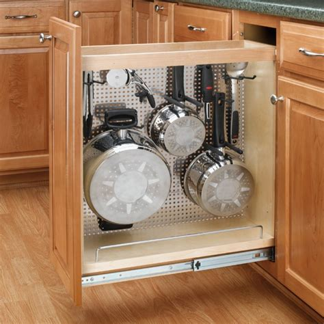 """8"""" Wide Organizer w/Stainless Steel Panel for Base"""