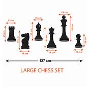 Chess Pieces Wall Stickers  Rook Knight Bishop Queen King And
