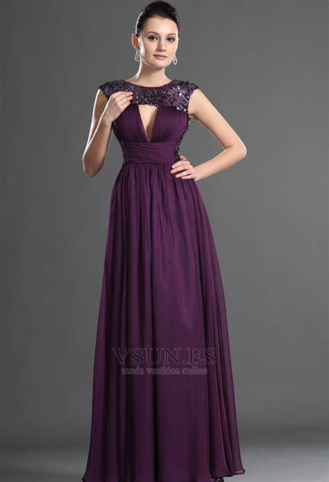 color uva vestidos color uva de