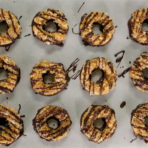 Cookies Handmade - samoas cookie recipe popsugar food