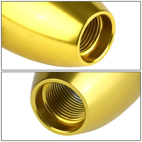 Gold Shift Knob by Universal 6 Speed Mt 10x1 5 Aluminum Racing Shift Knob Gold