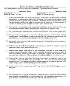 bilateral nda template non disclosure agreement 16 free word pdf documents