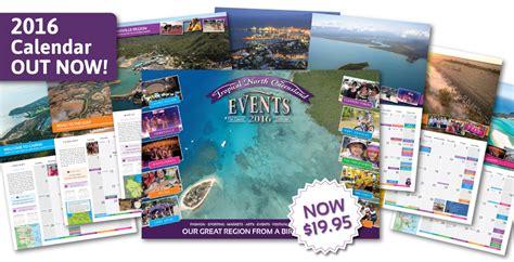 tropical queenslands number calendar showcasing