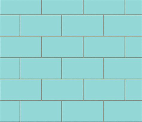 subway tile robins egg blue fabric glimmericks