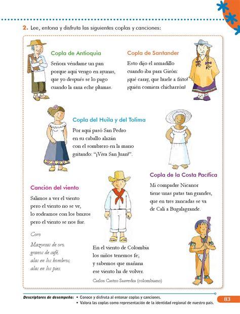 copla de la tuza coplas infantiles canciones para nios competencias comunicativas 3 libro estudiante by sandra