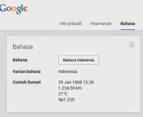 email yahoo bahasa indonesia cara mengubah bahasa email dengan mudah ilham maulidan