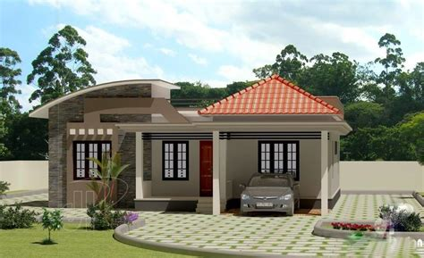 House Pla Beautiful Low Cost 3 Bedroom Home Plan In 1309 Sqft Free