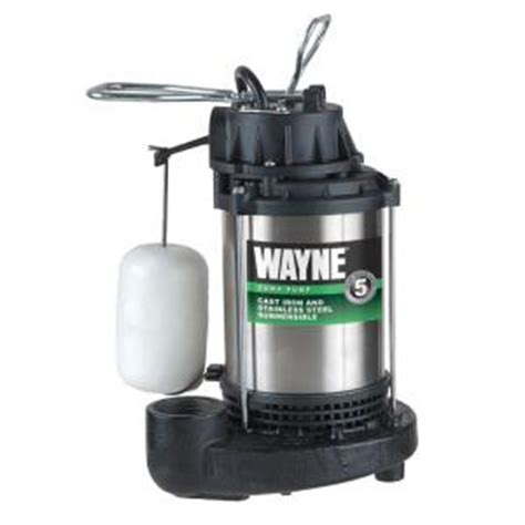 wayne 3 4 hp submersible sump cdu980e the home depot