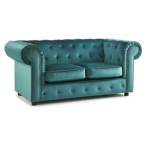 teal velvet chesterfield sofa crushed velvet furniture sofas beds chairs cushions