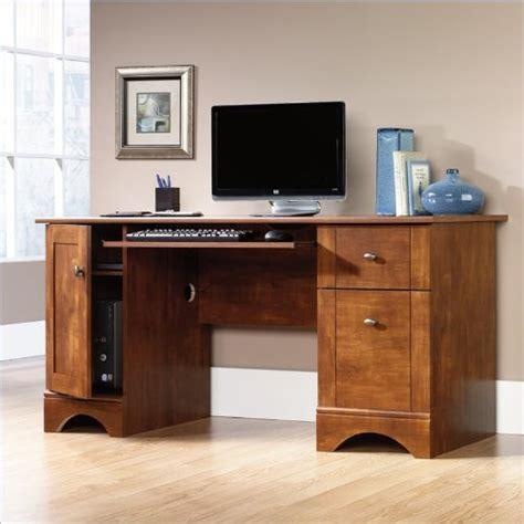 Sauder Desk Replacement Parts by Sauder Computer Desk Brushed Maple Finish Furniture