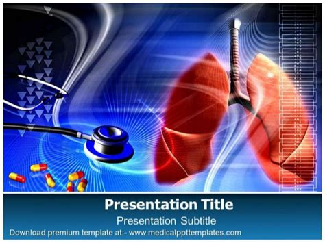 Powerpoint Themes Lungs | lungs powerpoint template
