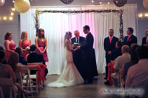 Wedding Arch With Lights by Wooden Wedding Arches Wood Ceremony Arches Wedding