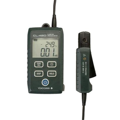 Kyoritsu Cl Meter yokogawa cl420 4ma to 20ma cl on process meter for dc