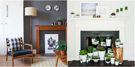 fireplace ideas no fire fireplace decor designs for a faux fireplace
