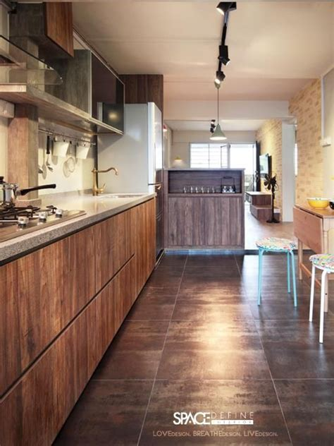 9 kitchen design ideas for your hdb flat small homes interior design singapore and walk in