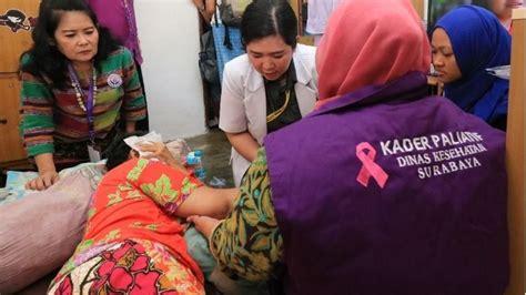 surabaya jadi kota paliatif pertama  indonesia