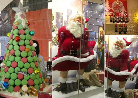 decoration magasin noel decoration de noel devanture magasin