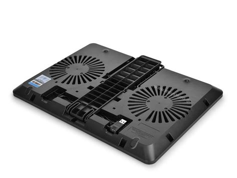 Deepcool Cooling Pad U Pal by Deepcool Notebook Cooling Pad U Pal Black Dp N214a5 Upal