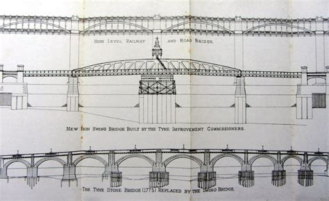swing bridge design newcastle swing bridge heddon on the wall local history